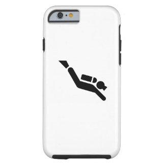 Scuba Diving Pictogram iPhone 6 Case