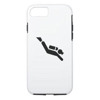Scuba Diving Pictogram iPhone 7 Case