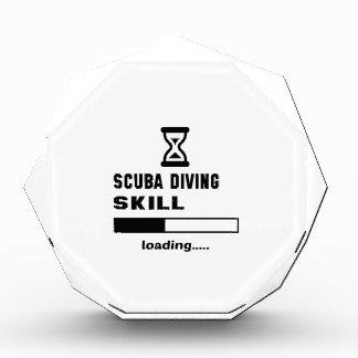 Scuba Diving skill Loading...... Acrylic Award