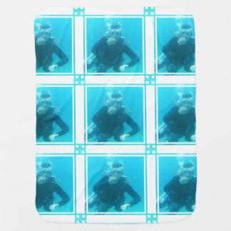 Scuba Diving Stroller Blanket
