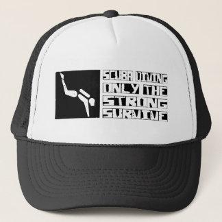 Scuba Diving Survive Trucker Hat