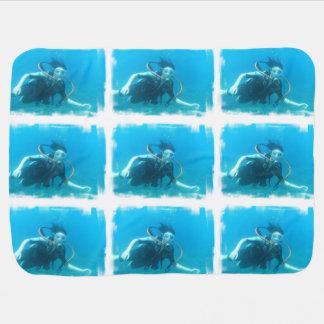 Scuba Diving Swaddle Blankets