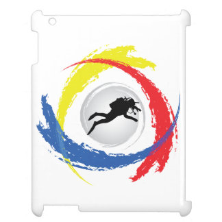 Scuba Diving Tricolor Emblem Cover For The iPad 2 3 4
