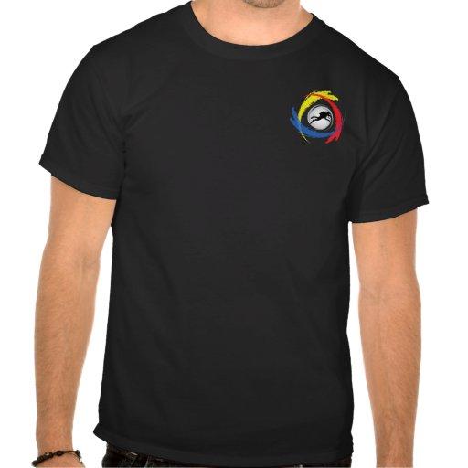 Scuba Diving Tricolor Emblem Tshirts