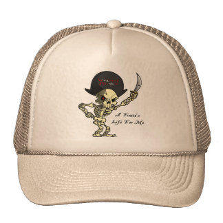Scuba Diving Trucker Hat: A Pirate's Life For Me Trucker Hat