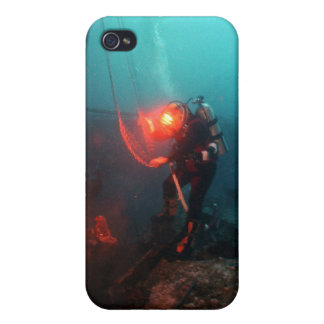 Scuba Diving Underwater iPhone 4/4S Cover