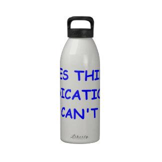 scuba diving drinking bottles