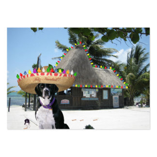 """Scuba Dog """"Diversity"""" Trade Card Large Business Cards (Pack Of 100)"""