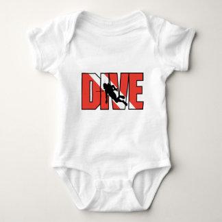 SCUBA Drive Baby Baby Bodysuit