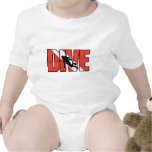 SCUBA Drive Baby Rompers