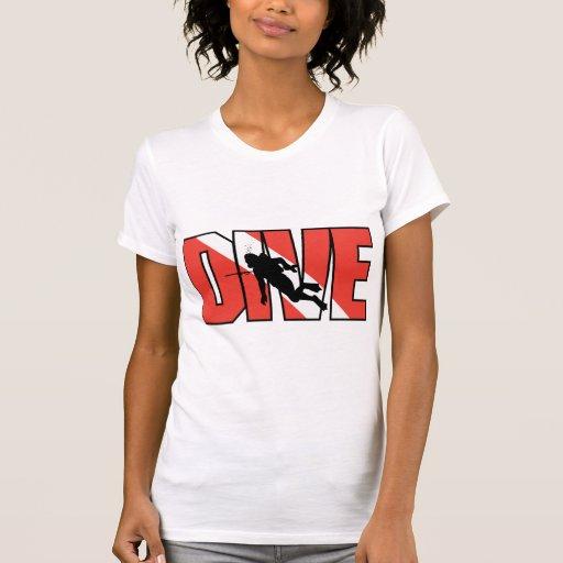 SCUBA Drive Woman's Tee Shirts