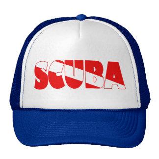 Scuba (English) Trucker Hat