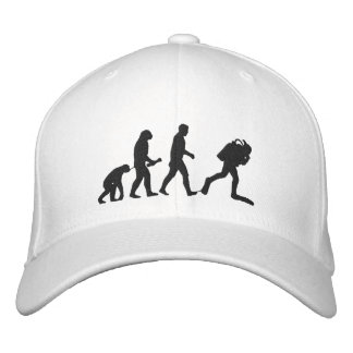 SCUBA Evolution Embroidered Cap