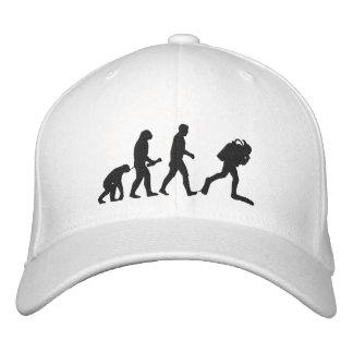 SCUBA Evolution Embroidered Cap Baseball Cap