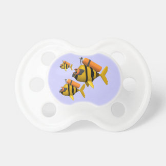 Scuba Fish BooginHead Pacifier