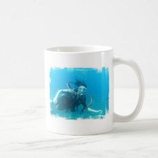 Scuba Girl  Coffee Mug