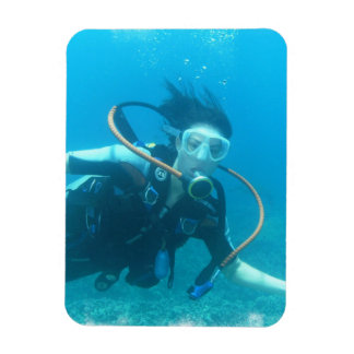 Scuba Girl Flexible Magnet
