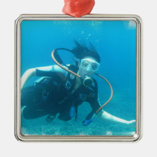 Scuba Girl  Ornament
