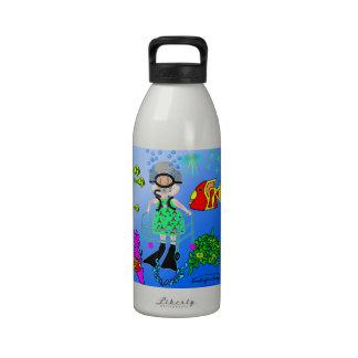 Scuba Granny Reusable Water Bottle