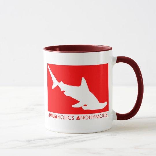 Scuba Hammerhead Mug - Aquaholics