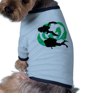 SCUBA HIDDEN COVE DOG TSHIRT