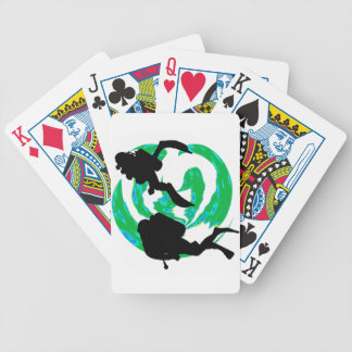 SCUBA HIDDEN COVE PLAYING CARDS