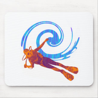 SCUBA IN INDO MOUSE PAD