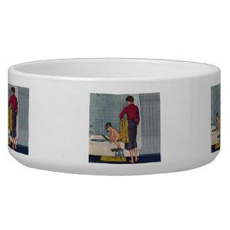 Scuba in the Tub Bowl