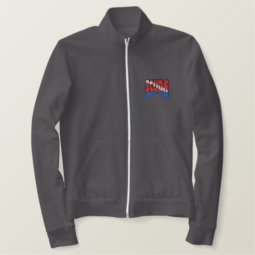 Scuba Logo Embroidered Jacket