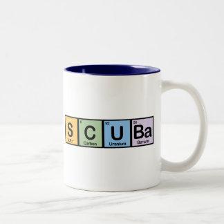 Scuba made of Elements Coffee Mug