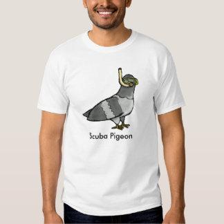 Scuba Pigeon T-Shirt