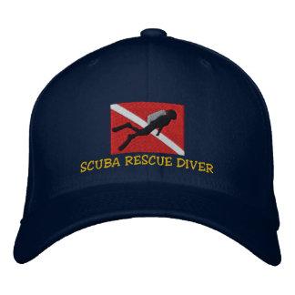 SCUBA Rescue Diver Embroidered Cap
