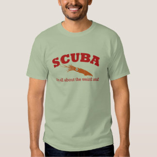 Scuba Squid Light T-shirt