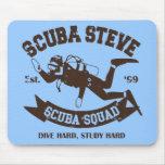 Scuba Steve Mouse Pad