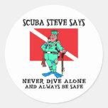 SCUBA Steve Sticker