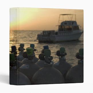 Scuba Tanks and Dive Boat Binder