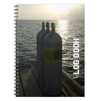 Scuba Tanks Dive Log Book Notebooks