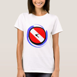 SCUBA THE BADGE T-Shirt