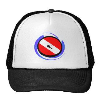 SCUBA THE BADGE TRUCKER HAT