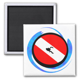 SCUBA THE CREED 2 INCH SQUARE MAGNET