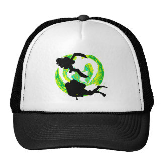 SCUBA THE PATH TRUCKER HAT