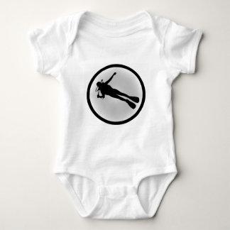 SCUBA THE TEST BABY BODYSUIT