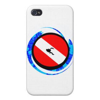 SCUBA TO ENLIGHTEN iPhone 4/4S CASES