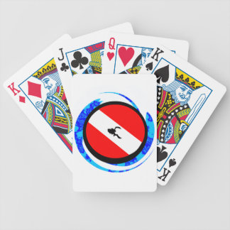 SCUBA TO ENLIGHTEN BICYCLE PLAYING CARDS