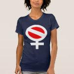 Scuba Flag Woman Women\'s American Apparel Fine Jersey Short Sleeve T-Shirt