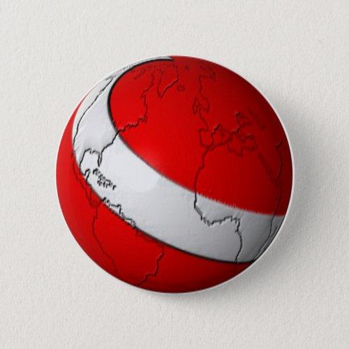 Scuba World Pinback Button