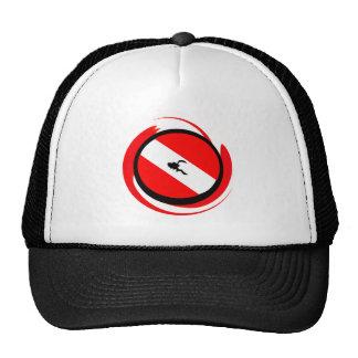 SCUBA YOURS MINE TRUCKER HAT