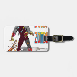 Scuba Zombie Tag For Bags
