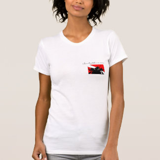 ScubaChixs Plain White T T Shirt