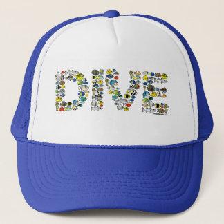 Scubadorable DIVE Trucker Hat